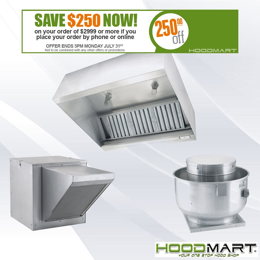 Hoodmart Is Your One Stop Hood Exhaust Hood Shop For High Quality Commercial And Restaurant Kitchen Exha Kitchen Ventilation Commercial Kitchen Kitchen Exhaust