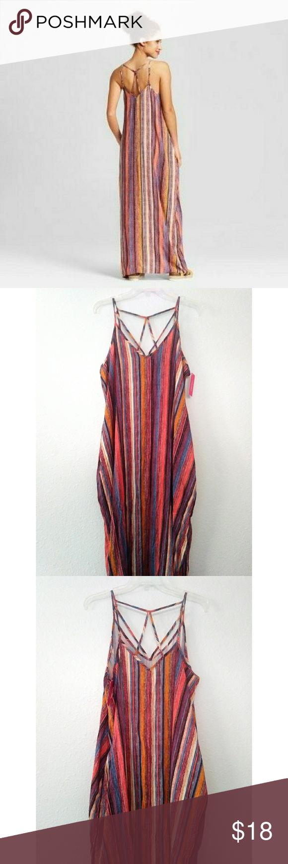 Xhilaration Maxi Dress Maxi Dress Dresses Clothes Design [ 1740 x 580 Pixel ]
