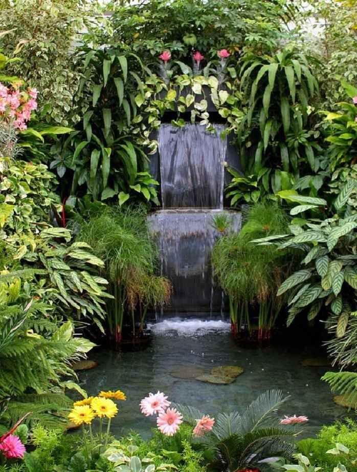 Vegetation bassin cerca con google exterior for Cascadas jardin zen