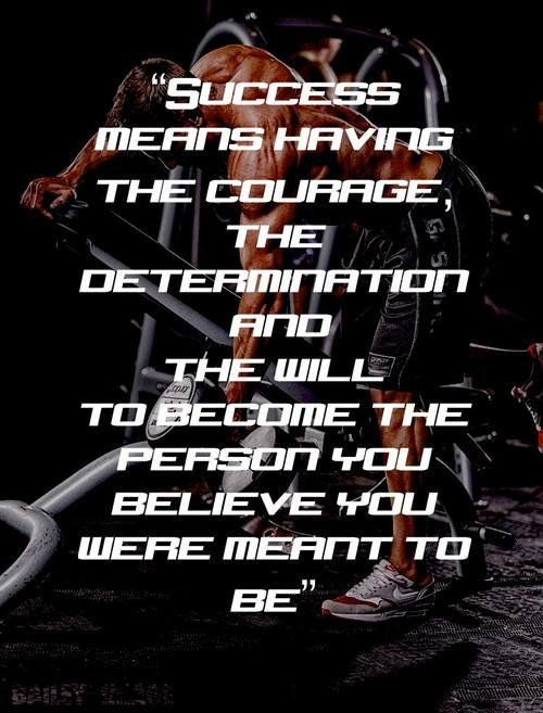 """Fitness Viking on Twitter: """"#Gym_Motivation Become who you were meant to be. #Courage https://t.co/DcTAHi2Wlr"""""""