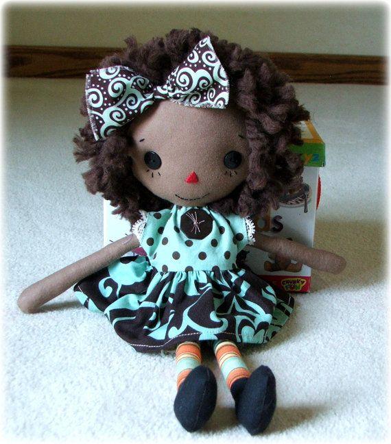 African American Raggedy Ann Doll | cute stuff | Pinterest
