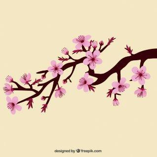Descarga Vectores Y Fotos Gratis De Flor Del Cerezo En Freepik Es Flor De Cerezo Cuadro De Flor De Cerezo Arte De Flor De Cerezo