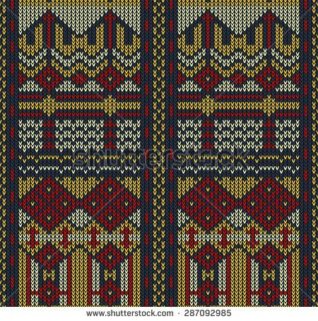 Tribal aztec abstract seamless pattern geometric vector knitting charts tribal aztec abstract seamless pattern dt1010fo
