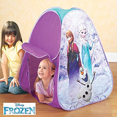 Disneys Frozen Pop Up Hideaway Tent -- This is an Amazon Affiliate link. See  sc 1 st  Pinterest & Disneys Frozen Pop Up Hideaway Tent -- This is an Amazon Affiliate ...