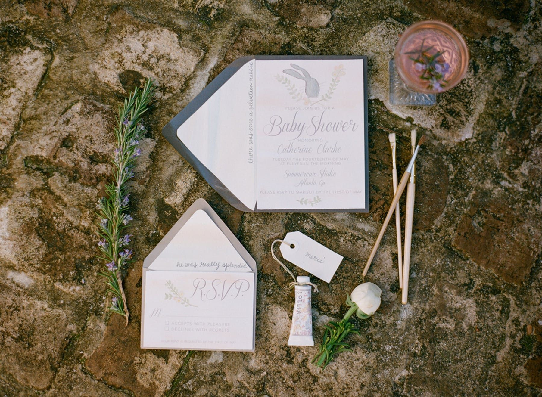 Velveteen Rabbit Baby Shower By Simply Charming Socials