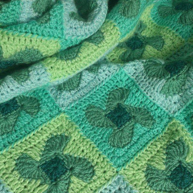It's finished! My Little Windmill Baby Blanket. #crochet #haken. #häkeln #ganchillo #crochetblanket