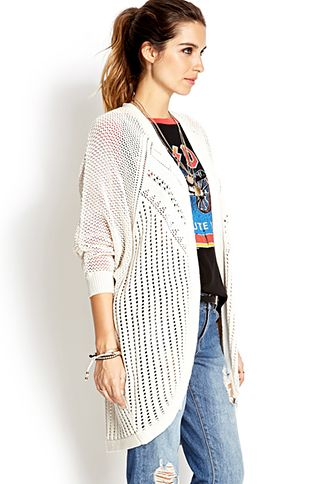 Relaxed Dolman Cardigan | FOREVER21 - 2000107924
