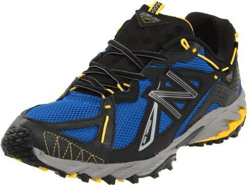 promo code 41540 b9bca New Balance Mens MT610 Trail Running Shoe,BlueBlack,7.5 2E US New