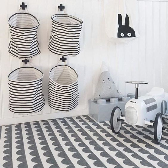 Chaos im Kinderzimmer? 25 clevere Aufbewahrungsideen. #roomideas