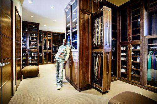 Floyd Mayweather House Las Vegas   Floyd Mayweather 9 Million Vega Mansion  · Walking ClosetExpensive HomesCustom ...