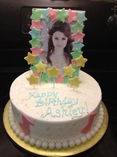 Ashleys 12th Birthday Cake Happy Birthday Memories Pinterest