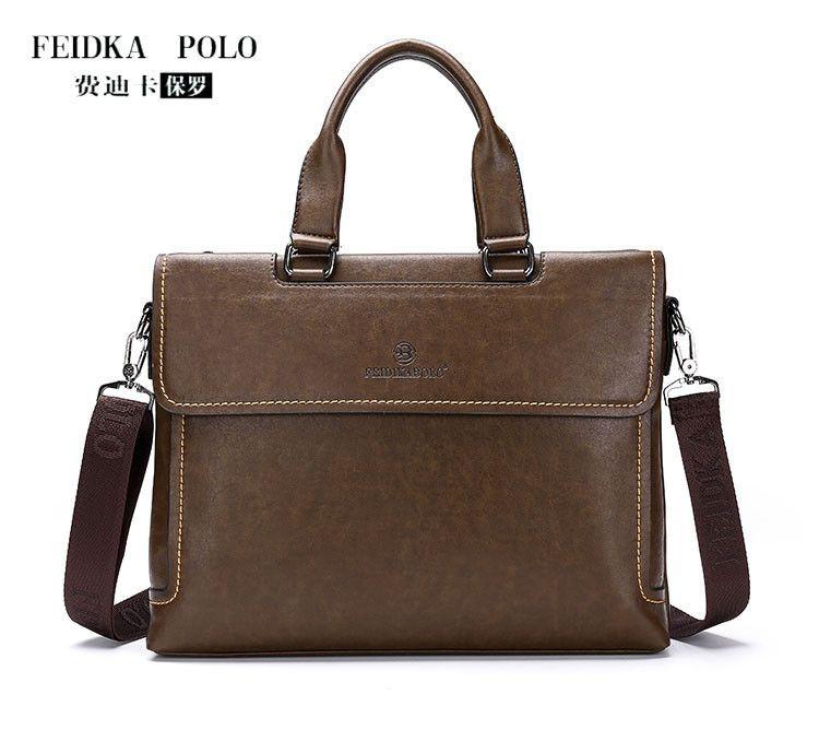 2015 Popular Italy Design Brand man shoulder bag,Quality Leather Handbags,Attache Business Trip Bag,Vintage Men tote,Three color
