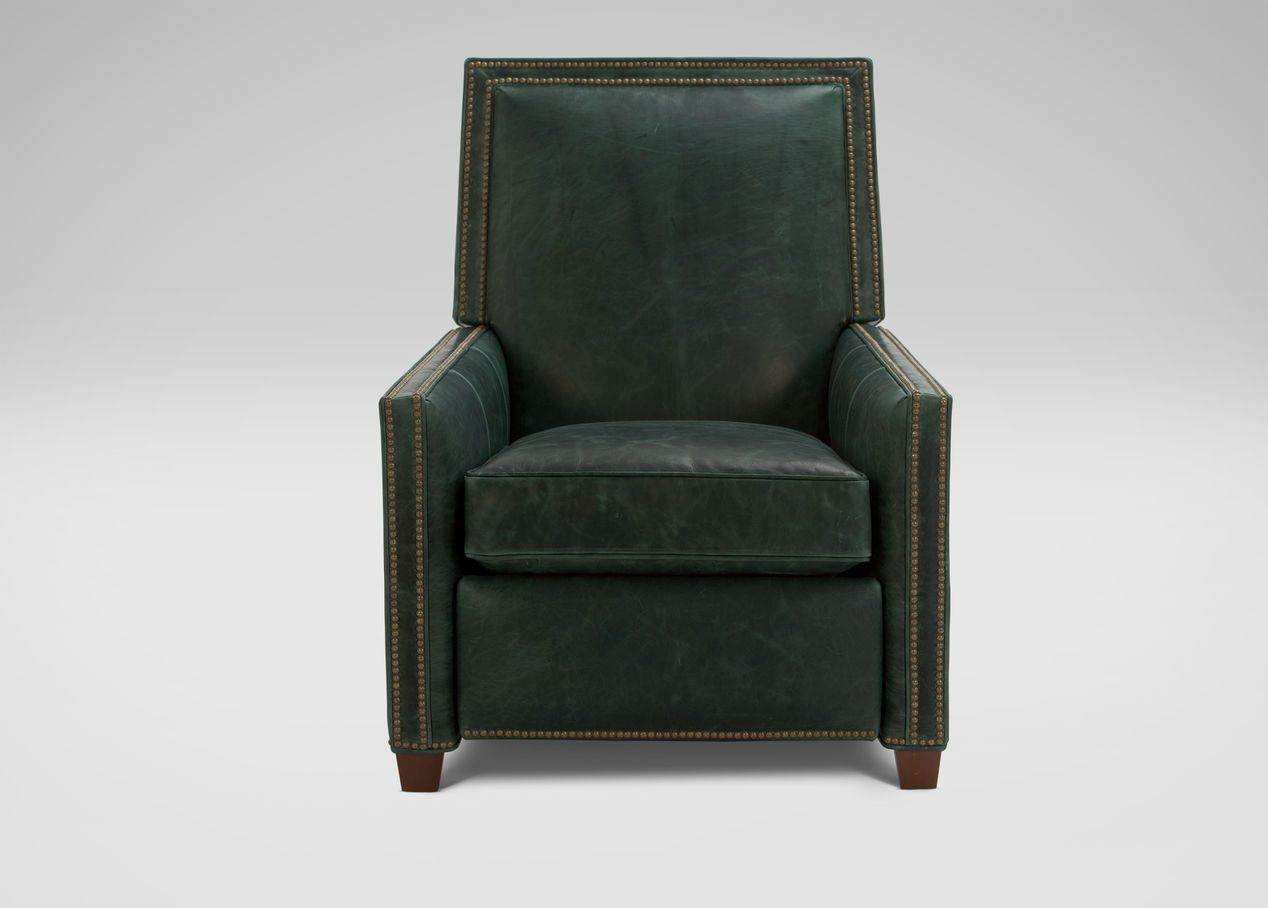 Incredible Randall Leather Recliner Ethan Allen Client Coburn Gmtry Best Dining Table And Chair Ideas Images Gmtryco