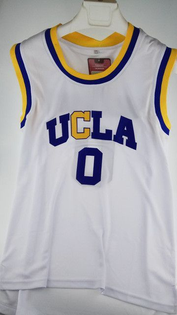 best service 664e7 62375 UCLA 0# Russell Westbrook Throwback College Basketball ...