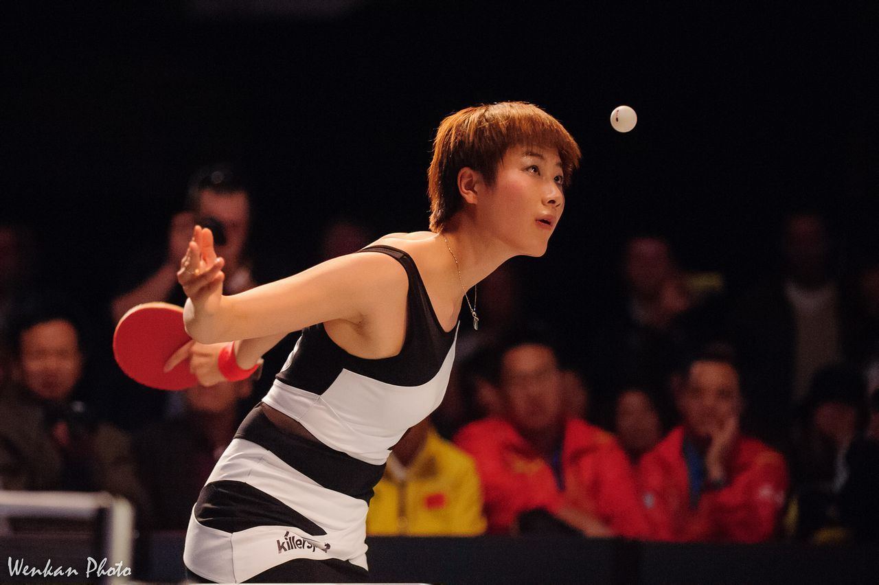Ding Ning @ Chicago Table Tennis Festival