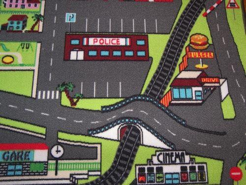 d tail tapis de jeu circuit de voiture dans la ville babyland pinterest tapis de jeu jeux. Black Bedroom Furniture Sets. Home Design Ideas