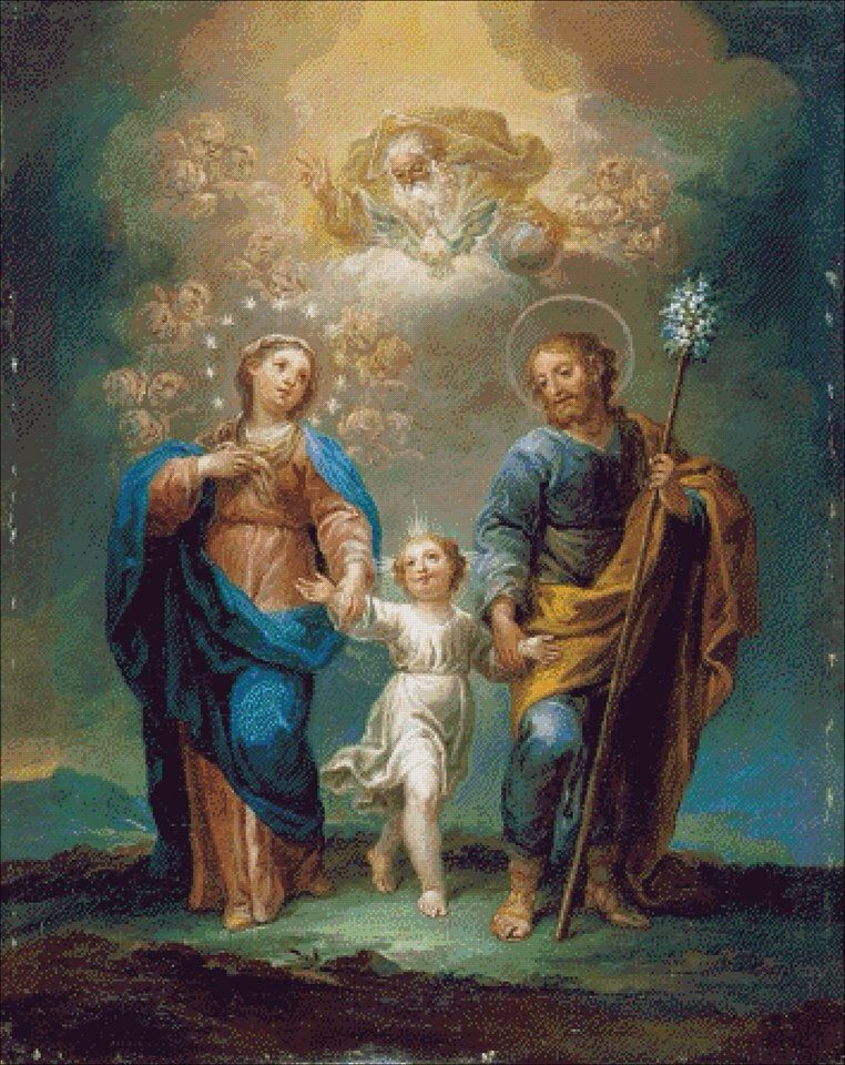 Holy Family | +++AWESTRUCK | Pinterest | Heilige, Paradies und Mütter