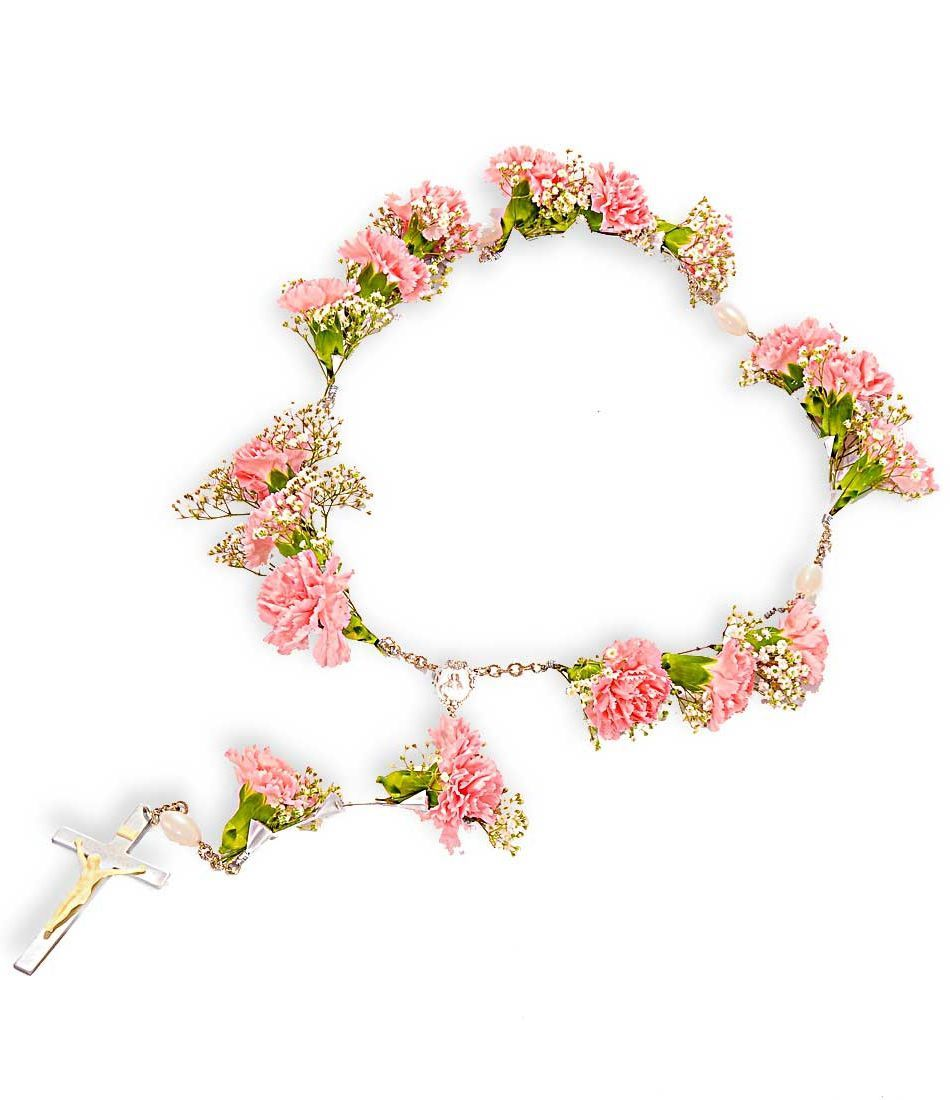Flower rosary the best flowers ideas funeral flowers catholic quotes dhlflorist Gallery