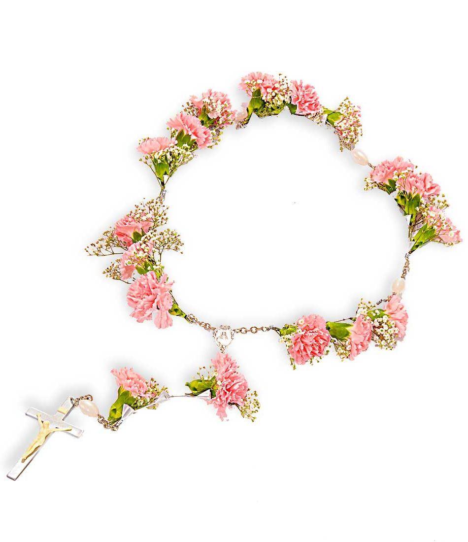 Flower rosary the best flowers ideas funeral flowers pinterest flower rosary the best flowers ideas izmirmasajfo