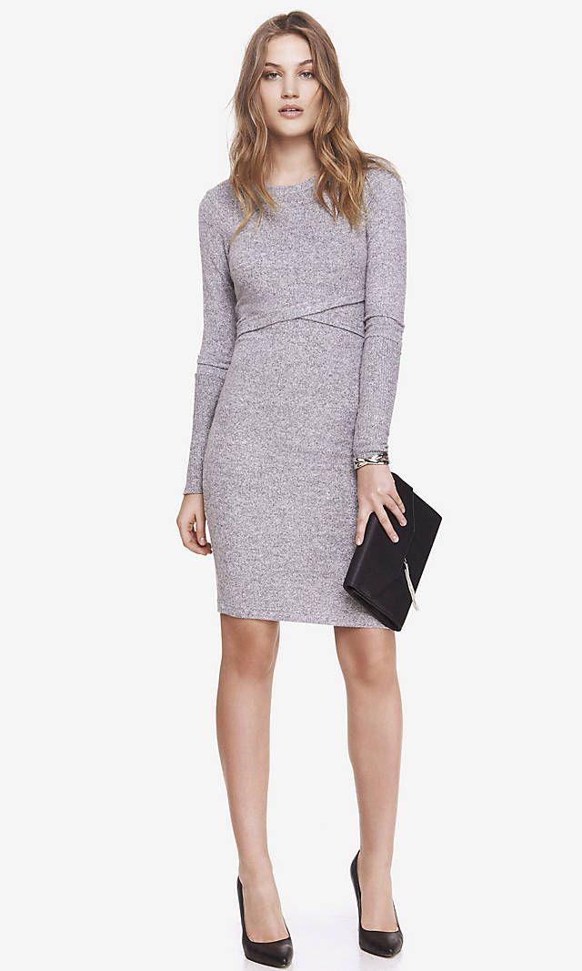 A dress with fabric that\u0027s so cushy soft, you\u0027ll want to wear it