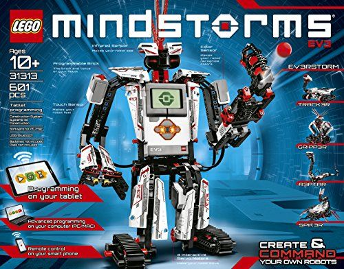 Zzz LEGO MINDSTORMS EV3 31313 Robot Kit for Kids | Gustav se ...