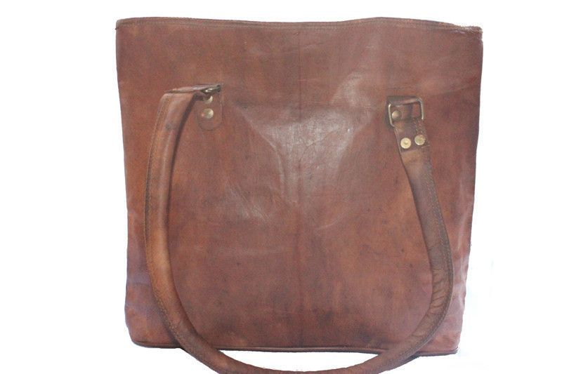 Genuine Leather Ladies Tote
