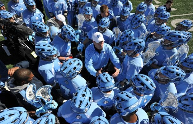 2012 North Carolina huddles in their new CPX-Rs.