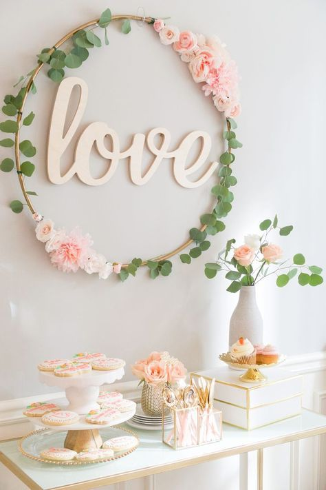 blush and gold bridal shower a must see bridal shower bridal shower ideas pinterest themed bridal showers bridal showers and gold bridal showers
