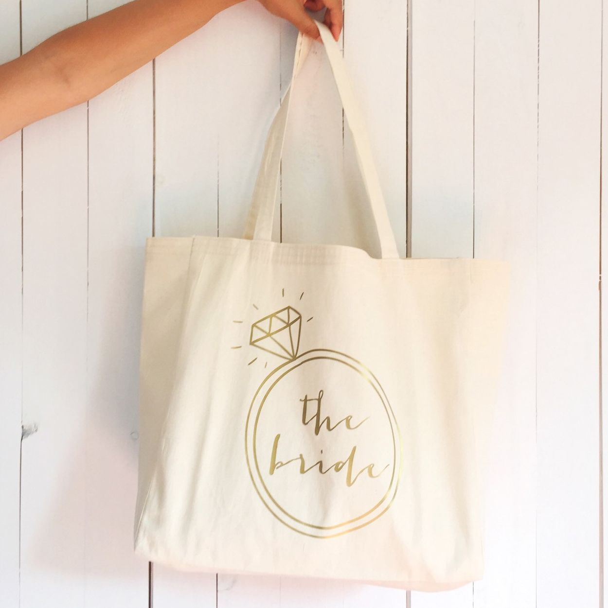 Wedding Gift Canvas Tote Bag Tote Bag Wedding Planning Gift for Bride Bridal Shower Gift Wife Gift Bachelorette Party Gift for Wife