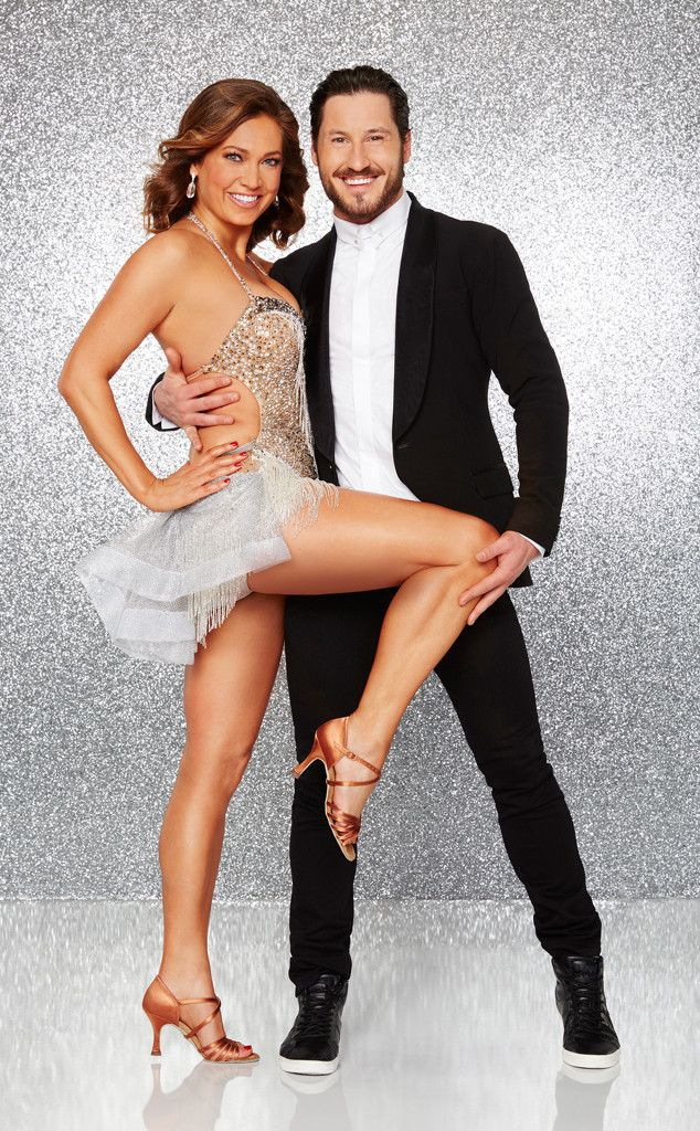 Ginger Zee and Val Chmerkovskiy from Meet Dancing With the Stars' Season 22 Cast