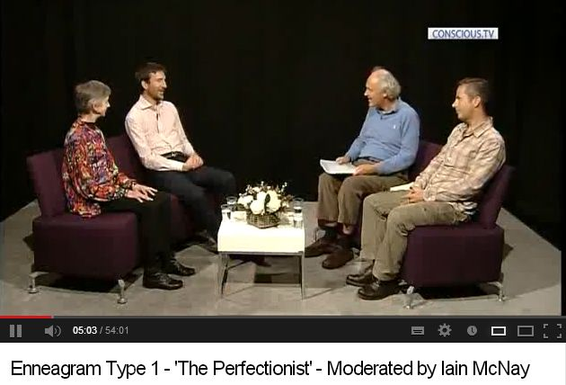 Enneagram Type 1 - 'The Perfectionist' - Moderated by Iain McNay
