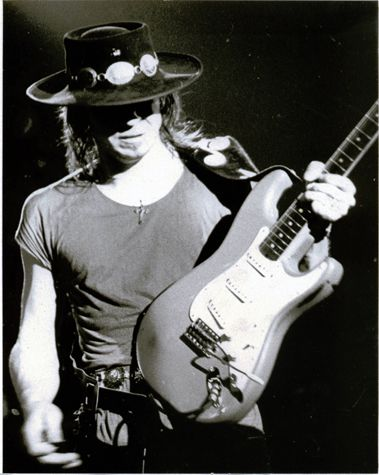 Stevie Ray Vaughan. Hope he's the greeter at the gate. So many questions