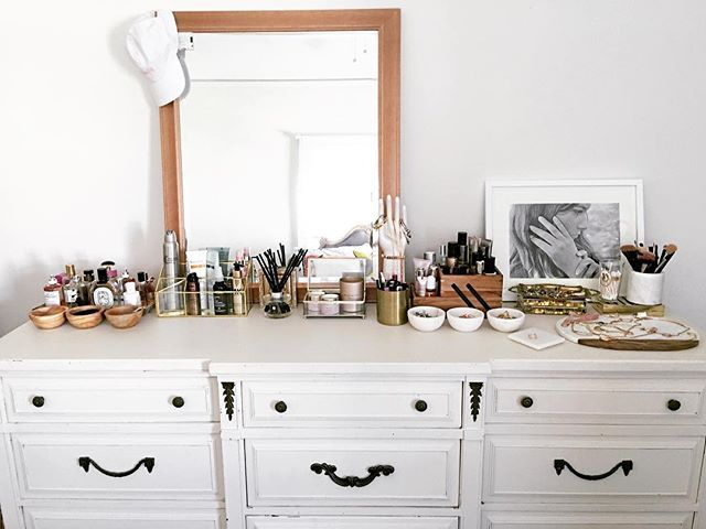 7 Beauty Bloggers Reveal the Genius Ways They Organize Their Makeup images