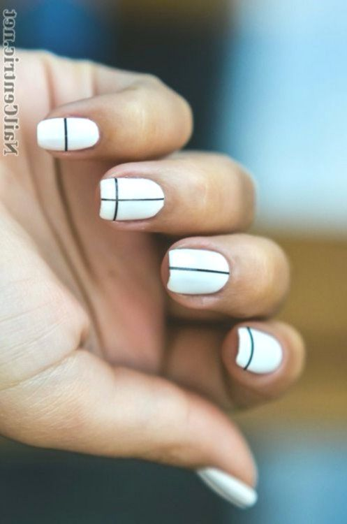 8 Subtle (and Oh-So Simple!) Nail Art Designs #designs # ...