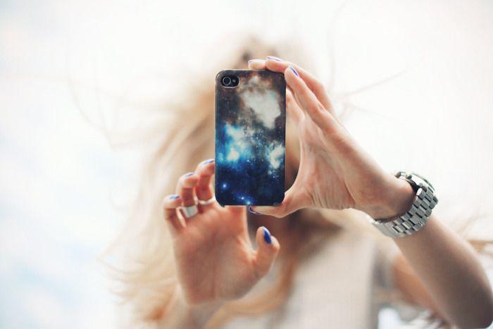 Cosmic iPhone case.
