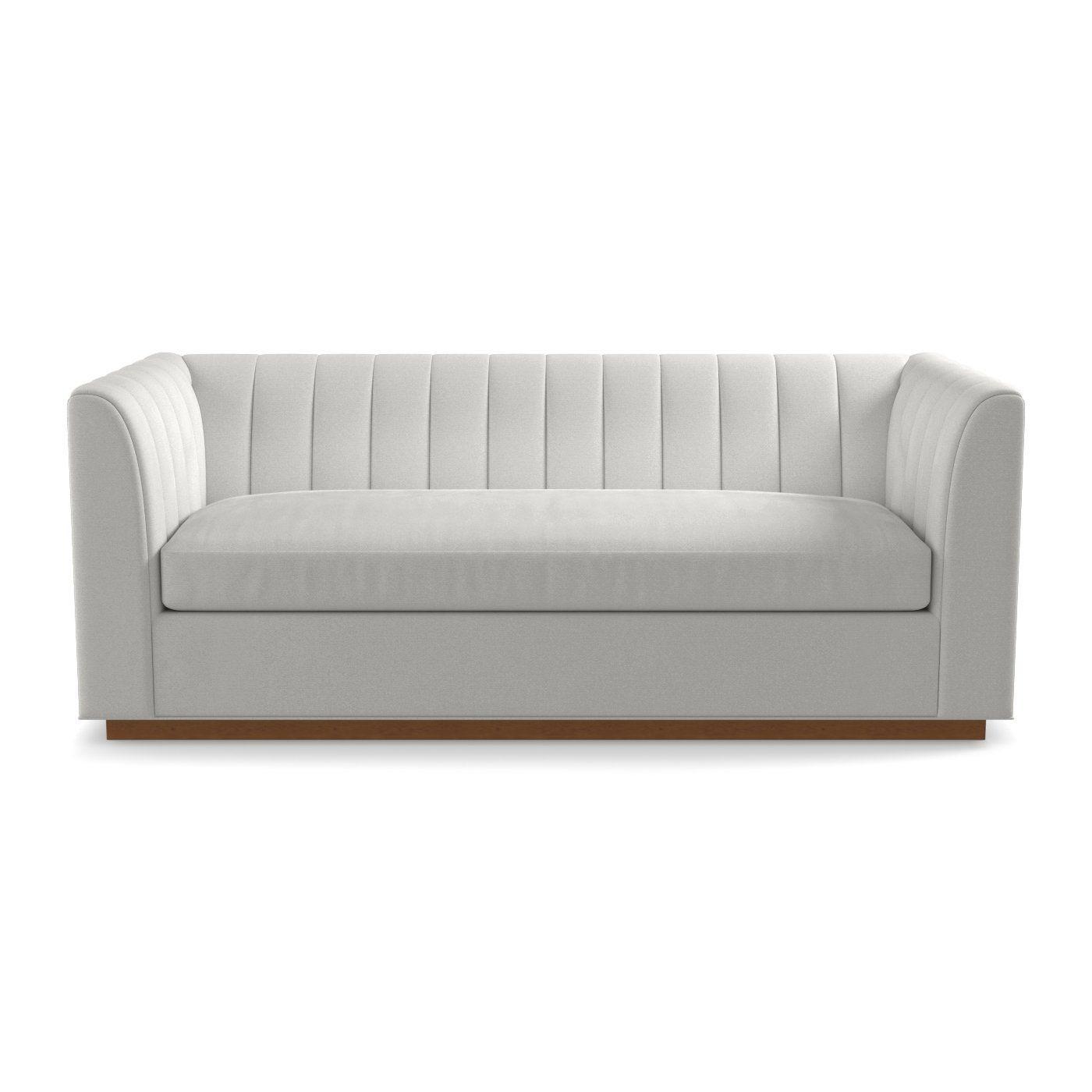 Tremendous This Sleek And Oversized Sleeper Sofa Has A Tight Channel Customarchery Wood Chair Design Ideas Customarcherynet