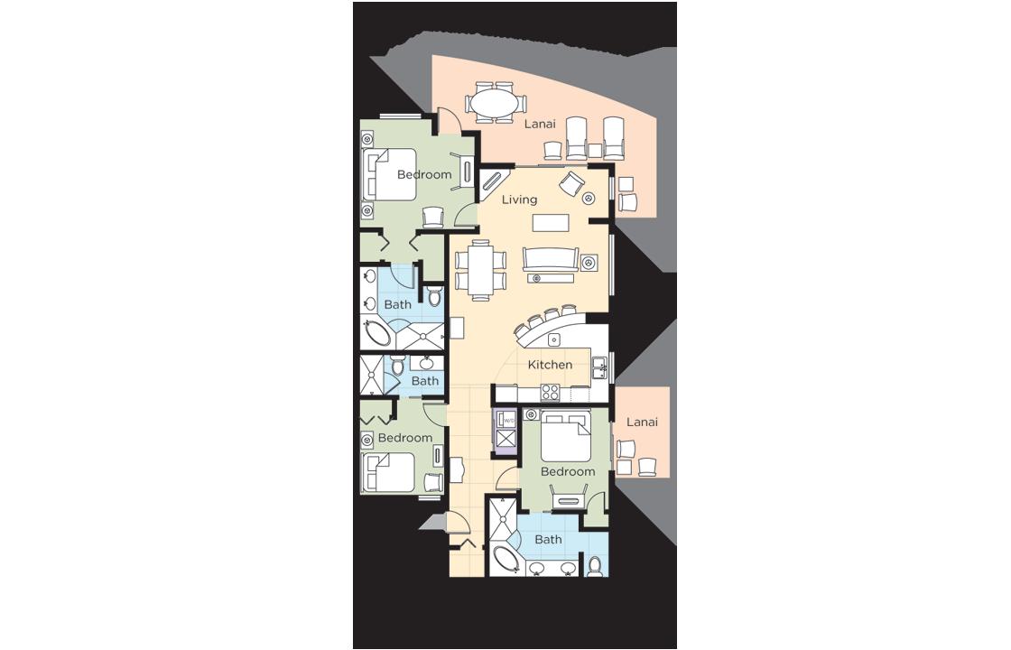 wyndham 5 bedroom suites - Google Search  Bedroom suite, Wyndham