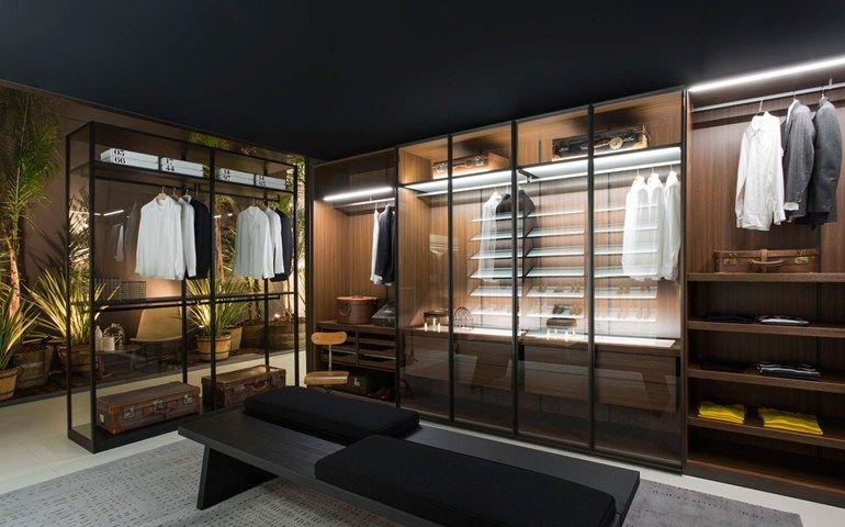 Armario vestidor STORAGE Colección Storage by Porro   diseño Piero Lissoni, Centro Ricerche Porro