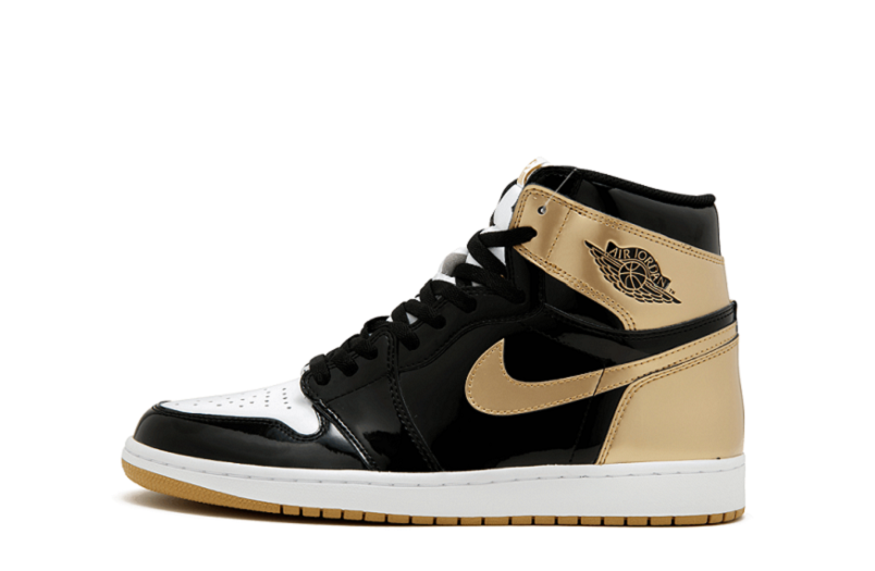 58e6d4af9c4c Replica Air Jordan 1 High OG NRG Gold Top 3 (1)