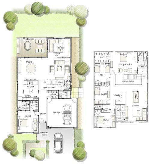 Floor plan also design prototypical family homes pinterest rh