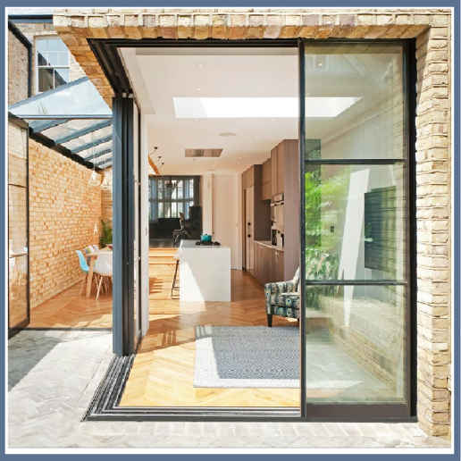 Aluminum Double Clear Tinted Low E Reflective Glass Glazing Corner Sliding Glass Door P In 2020 House Extension Design Exterior Doors With Glass Sliding Doors Exterior