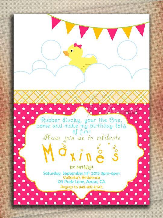 Rubber duck birthday invitation rubber ducky by mvdesignink 1000 rubber duck birthday invitation rubber ducky by mvdesignink 1000 stopboris Image collections