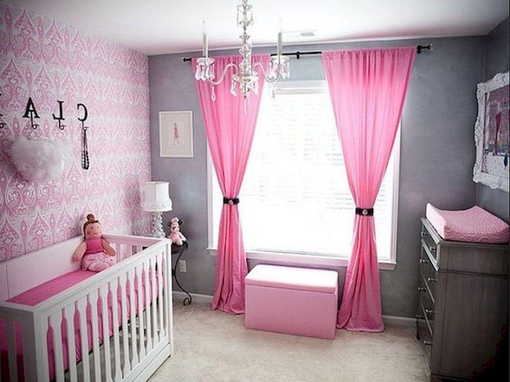33 Adorable Nursery Room Ideas For Girl 27 Girl Nursery Room Baby Girl Room Decor Baby Girl Room