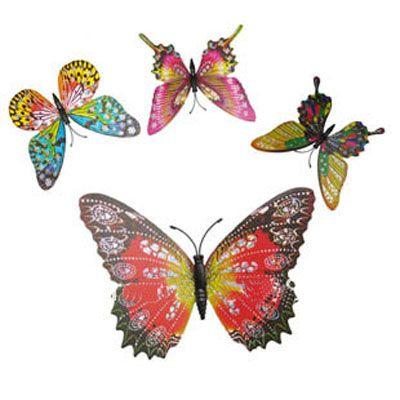 3D Artificial Butterfly Magnet