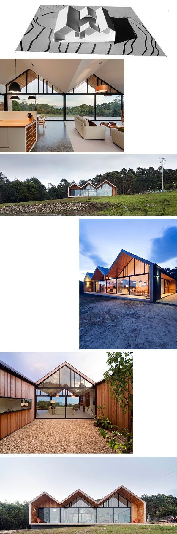 Arquitectura modular prefabricada industrializada casa vivienda contemplaci n architecture house - Archi moderni casa ...