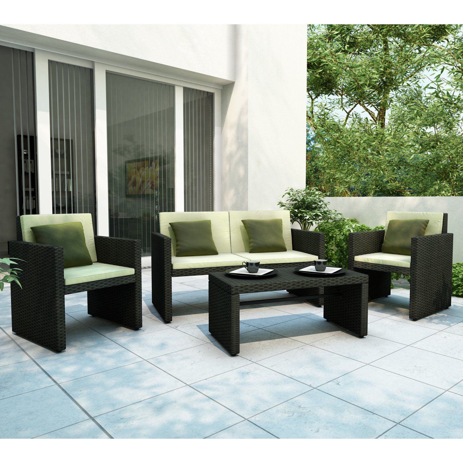 Sonax Creekside RTA Patio Lounge Set   $699 @hayneedle