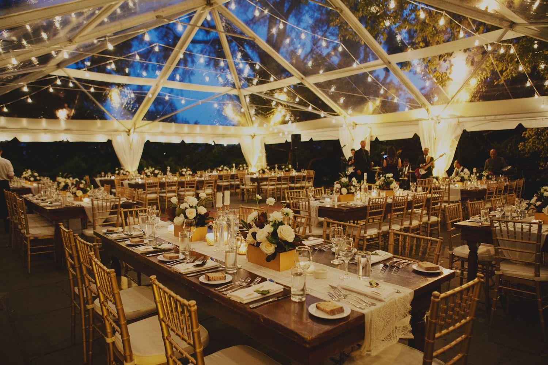 New Leaf Restaurant Wedding Reception