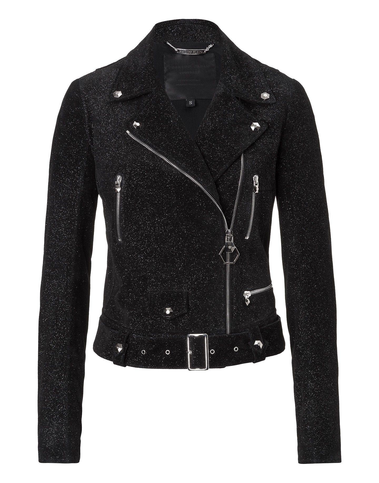 "PHILIPP PLEIN Leather Jacket ""Brasilia"". #philippplein #cloth #"