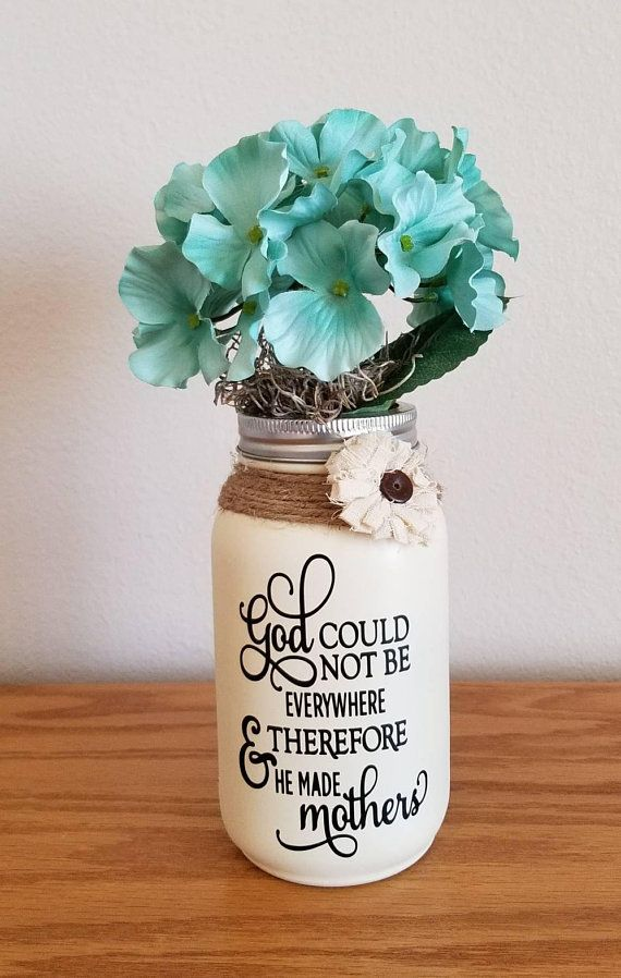 Mother S Day Gift Gifts For Mom Birthday Gift For Mom Mason Jar Decor Mason Jar Diy Mason Jar Gifts Mason Jar Decorations