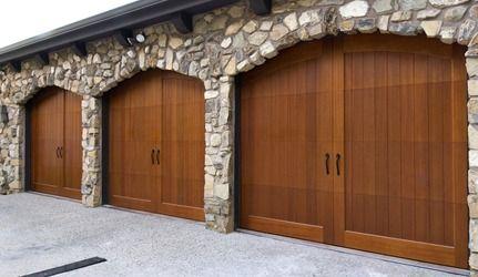 Is Your Garage Door Opener Troubling You Call Door Tech Garage Doors For Efficient Service Door Tech Garage Doors Puertas Principales Puerta De Madera Hogar